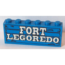 LEGO Assembly of bricks with FORT LEGORADO decoration (for sets 6769 and 6762)