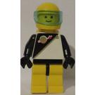 LEGO Astronaut with Black / White Top Minifigure