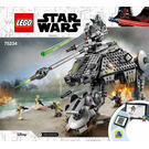 LEGO AT-AP Walker Set 75234 Instructions