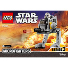 LEGO AT-DP Microfighter Set 75130 Instructions