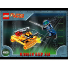 LEGO AT Jet Sub Set 4800 Instructions