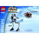 LEGO AT-ST & Snowspeeder Set 4486 Instructions