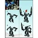 LEGO Atakus Set 8972 Instructions