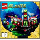 LEGO Atlantis Exploration HQ Set 8077 Instructions