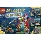 LEGO Atlantis Super Pack 4 in 1 Set 66365