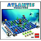 LEGO Atlantis Treasure (3851) Instructions