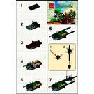 LEGO Attack Wagon Set 30061 Instructions