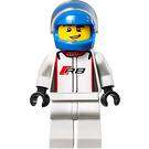 LEGO Audi R8 LMS ultra Driver Minifigure