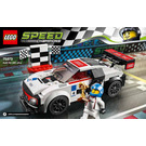 LEGO Audi R8 LMS ultra Set 75873 Instructions