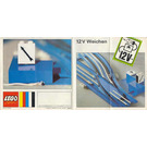 LEGO Automatic Left Electric Switch Set 754 Instructions