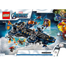 LEGO Avengers Helicarrier Set 76153 Instructions