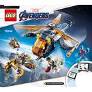 LEGO Avengers Hulk Helicopter Rescue Set 76144 Instructions