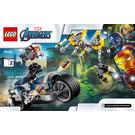 LEGO Avengers Speeder Bike Attack Set 76142 Instructions