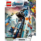 LEGO Avengers Tower Battle Set 76166 Instructions