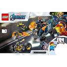 LEGO Avengers Truck Take-down Set 76143 Instructions