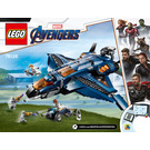 LEGO Avengers Ultimate Quinjet Set 76126 Instructions