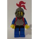 LEGO Axe Crusader Armored Knight Castle Minifigure