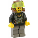 LEGO Axel with Transparent Neon Green Visor Minifigure