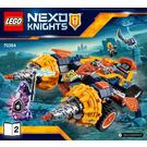 LEGO Axl's Rumble Maker Set 70354 Instructions
