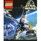 LEGO B-wing at Rebel Control Center Set 7180