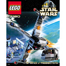 LEGO B-wing at Rebel Control Center Set 7180 Instructions