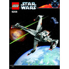 LEGO B-wing Fighter Set 6208 Instructions