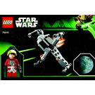LEGO B-Wing Starfighter & Planet Endor Set 75010 Instructions