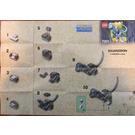 LEGO Baby Iguanodon Set 7001 Instructions