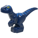 LEGO Baby Raptor with Blue Marks (37829 / 49363)