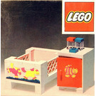 LEGO Baby's Cot and Cabinet Set 271-1