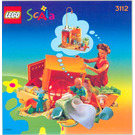 LEGO Baby's Nursery Set 3112 Instructions