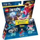 LEGO Back to the Future Level Pack Set 71201 Packaging