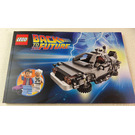 LEGO Back to the Future Time Machine Set 21103 Instructions