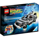 LEGO Back to the Future Time Machine Set 21103 Packaging