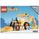 LEGO Backhoe Set 6662