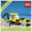 LEGO Backhoe Set 6686