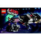 LEGO Bad Cop Car Chase Set 70819 Instructions