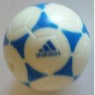 LEGO Ball with Blue Adidas Logo (13067)
