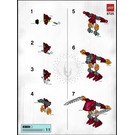 LEGO Balta Set 8725 Instructions