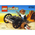 LEGO Bandit's Wheelgun Set 6791
