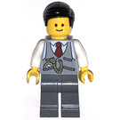 LEGO Bank Manager Minifigure