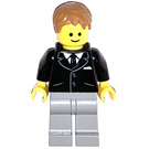 LEGO Bank Secretary Minifigure with Side Lines