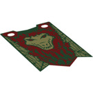 LEGO Banner Crocodile 40 x 65mm (20170)
