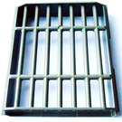 LEGO Bar 8 x 8 x 2 Sliding Grill Lattice (40942)