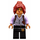 LEGO Barbara Gordon with Lavander Blouse Minifigure
