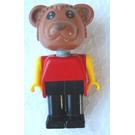 LEGO Barney Bear Fabuland Minifigure