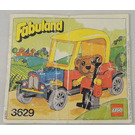 LEGO Barney Bear Set 3629 Instructions