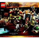 LEGO Barrel Escape Set 79004 Instructions