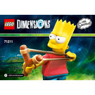 LEGO Bart Simpson Fun Pack Set 71211 Instructions