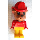 LEGO Barty Bulldog with Fire Helmet Fabuland Figure
